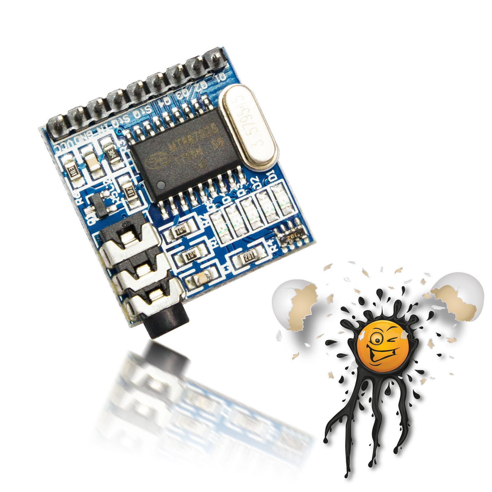 Mt8870 Dtmf Dual Tone Multi Frequency Audio Decoder Xd 61 33 5v Generator Module Androegg