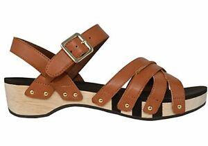 Brand-New-Scholl-Orthaheel-Passion-Womens-Comfort-Mid-Heel-Wedge-Sandals