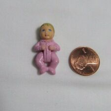 """FISHER PRICE Sweet Streets Dollhouse BABY GIRL INFANT BLUE FAMILY HOSPITAL 1"""""""