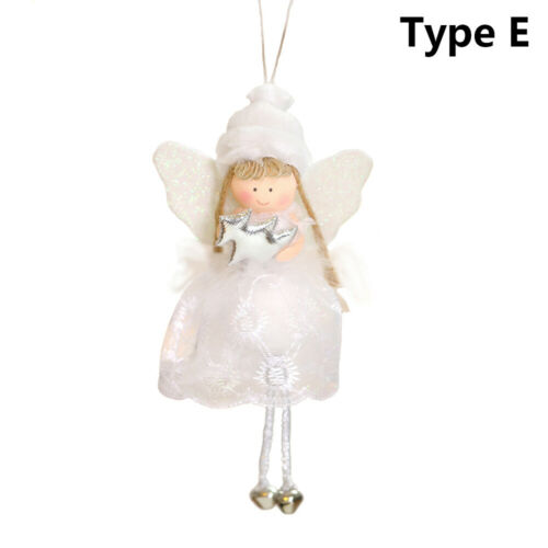 Favor Christmas Decorations Hanging Pendants Angel Girl Toys Plush Doll