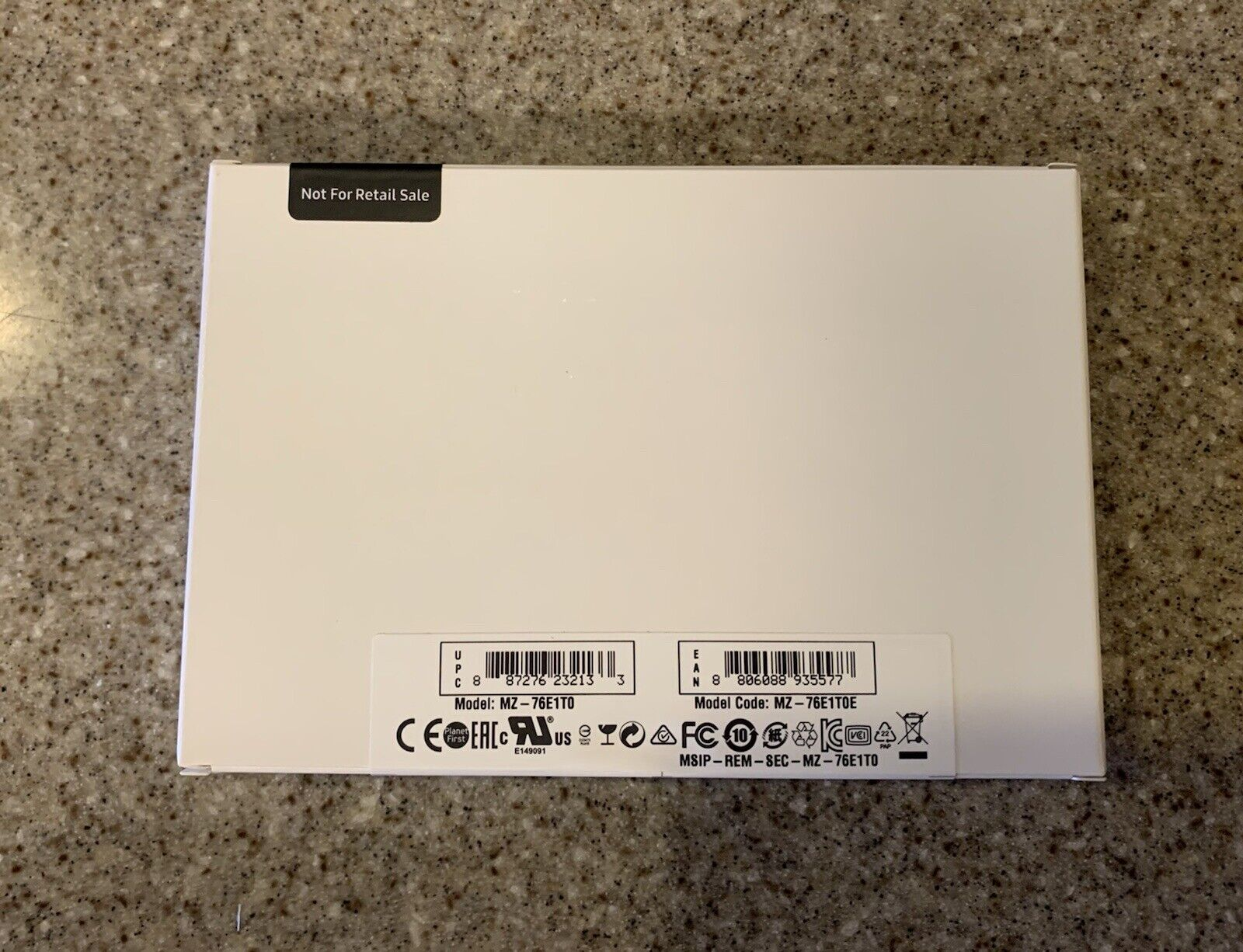 Samsung 860 EVO Series 1TB, 2.5 Inch (MZ76E1T0E) Solid State Drive (Sealed). Buy it now for 100.00