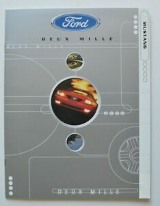 FORD-MUSTANG-2000-dealer-brochure-catalog-French-Canada