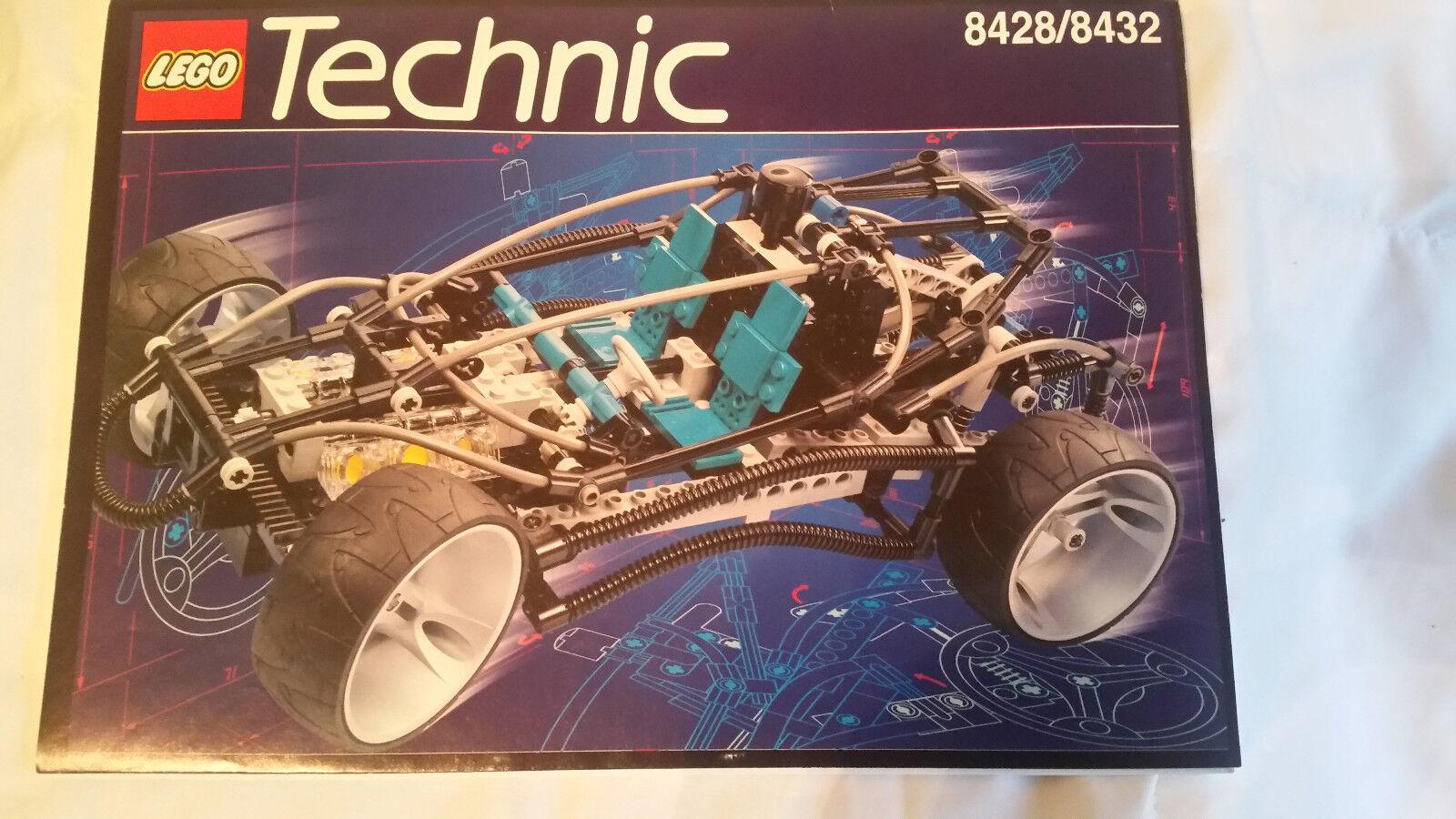 Lego Technic 8428 8432 bitte lesen  mit OVP BL CD Rom beide Modelle Prototyp