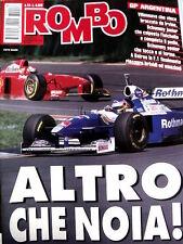 Rombo 16 1997 Gp Argentina Villeneuve che vince su IRVINE e Schumacher Ralf [R2]