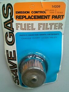 Emission-Control-Fuel-GAS-Filter-14209-Replaces-CG-802
