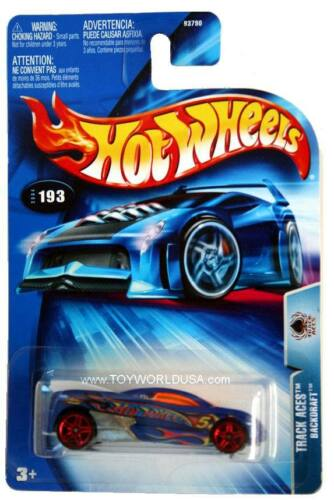 2004 Hot Wheels #193 Track Aces Backdraft