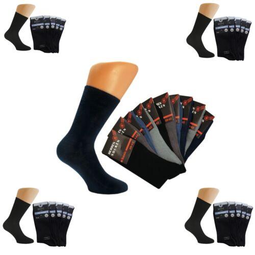 Chaussettes Hommes 100/% coton 1-30 P arbeitsscken diabétiques médecin Chaussettes Femmes