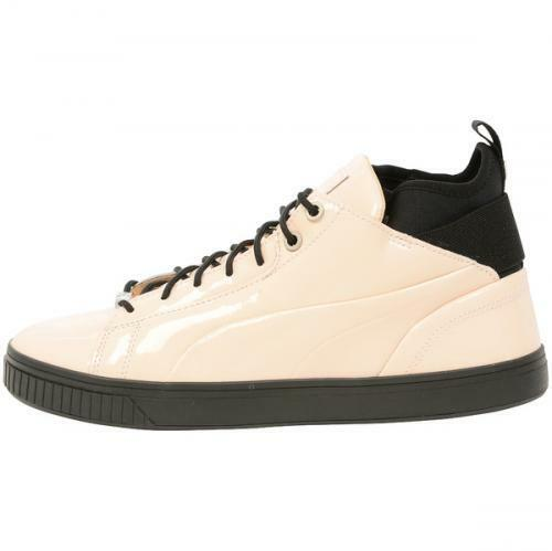 New Homme 13 PUMA Play Nude Beige Patent Leather Chaussures 2018 36146903