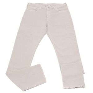 50a1f884e734c 0986X jeans uomo ARMANI JEANS SLIM FIT J06 light grey trouser men   eBay