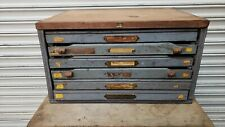 Vintage Letterpress Cabinet With Type 4