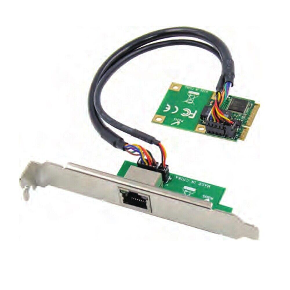 mini PCIe to RJ45 Gigabit Ethernet NIC Network Card 1000M RJ45 LAN network card