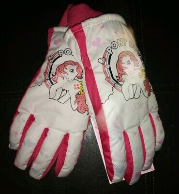 """NWT MY LITTLE PONY THINSULATE /""""PONY LOVE/""""GLOVES *FLEECE CHANGE COLORS IN COLD!!"""