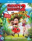 Cloudy WIth A Chance Of Meatballs 2 (3D Blu-ray, 2014)