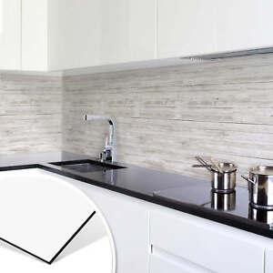 Bekannt Küchenrückwand - Alu-Dibond - Shabby Chic Holz - Panorama HO27