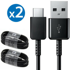 2-PACK Samsung Galaxy S8 S9 Plus Note 9 Type C USB-C Fast Charging Cable Charger
