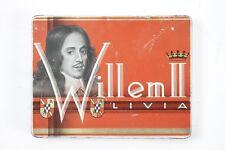 ancienne Boite de conserve Publicité Cigares Zigarrenbox Boîte Willen (voeu)