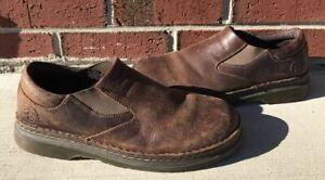 f6c756e962a Dr Doc Martens Orson Slip On Brown Leather Loafer Shoes Size UK 9 US ...