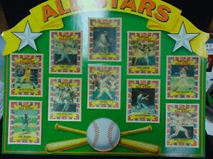 Details About Kelloggs Corn Flakes All Stars Baseball Cards W10 3d Cards