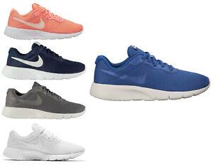 Nike-De-Mujer-Running-Zapatillas-NIKE-Tanjun-GS-Damas-Ninas-Deportes-Gimnasio-Zapato