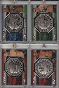 2013 UFC BLOODLINES CAIN VELASQUEZ OCTAGON COIN CARD #022/108