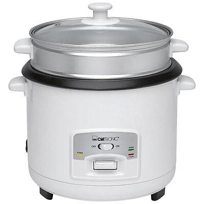 Clatronic RK 3566 Arrocera capacidad 3 litros para 2,5 kg arroz hervido, 700 W