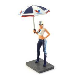 Figura Decoracion Milla Valvoline SWFIG013 Sideways Grid Girl with Umbrella 1/32