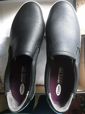 Memory Foam Cool Fit Madison Black Slip