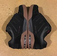 DVS Tycho Kerry Getz Size 7.5 US Black Nubuck BMX DC MOTO Skate Shoes Sneakers