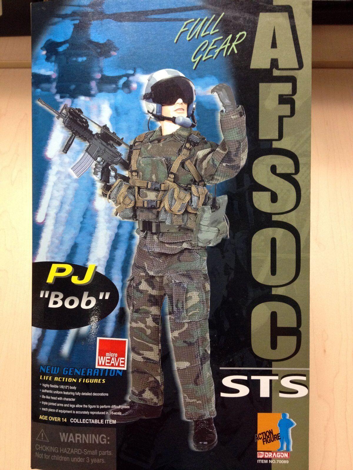 DRAGON 1 6 Figure AFSOC STS PJ Bob MIB - 70089