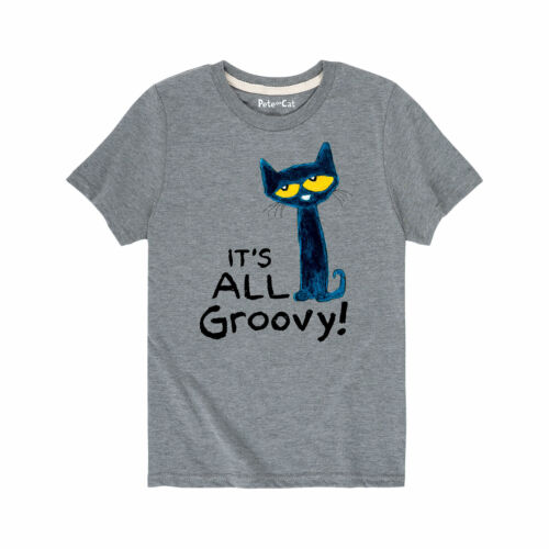 Pete The Cat  It/'s All Groovy Toddler Short Sleeve Tee