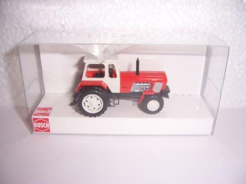 Busch 42829 Tracteur Fortschritt ZT 303 jumelle Pneus Rouge VEB 1:87 nouveau neuf dans sa boîte