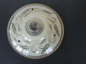 Antique-Glass-Ceiling-Light-Shade-Globe-art-deco-Lighting-Fixture