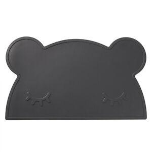 Bären Anti-Rutsch und Isolierung Silikon Platzset Tischmatte für Kinder