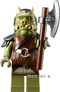 LEGO-STAR-WARS-OLIVE-GREEN-GAMORREAN-GUARD-FIGURE-GIFT-75005-2012-NEW