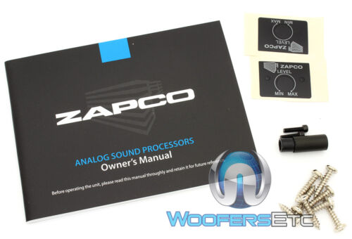 ZAPCO ASP-L2 BT BLUETOOTH 2-CHANNEL IN 4 CH OUT LINE DRIVER 9.5 VOLTS RMS NEW