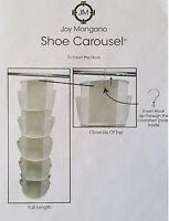 Joy Mangano Hanging Shoe Carousel - Choose Color