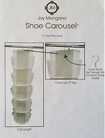 Joy Mangano Hanging Shoe Carousel - Choose Color
