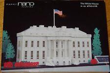 The White House Paper Nano Kawada Laser Cut Paper Model Kit PN125