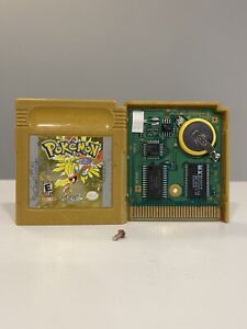 AUTHENTIC Pokemon Gold (Game Boy Color, 2000) BRAND New Save Battery