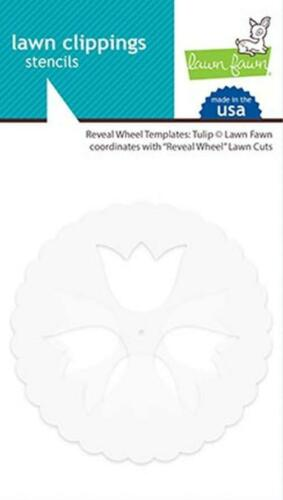reveal wheel templates Lawn Fawn tulip lawn cuts// Stanzschablone