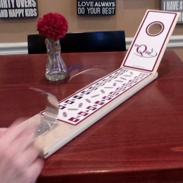 The Best Tabletop Cornhole Game Ever, and doesn't even need a table