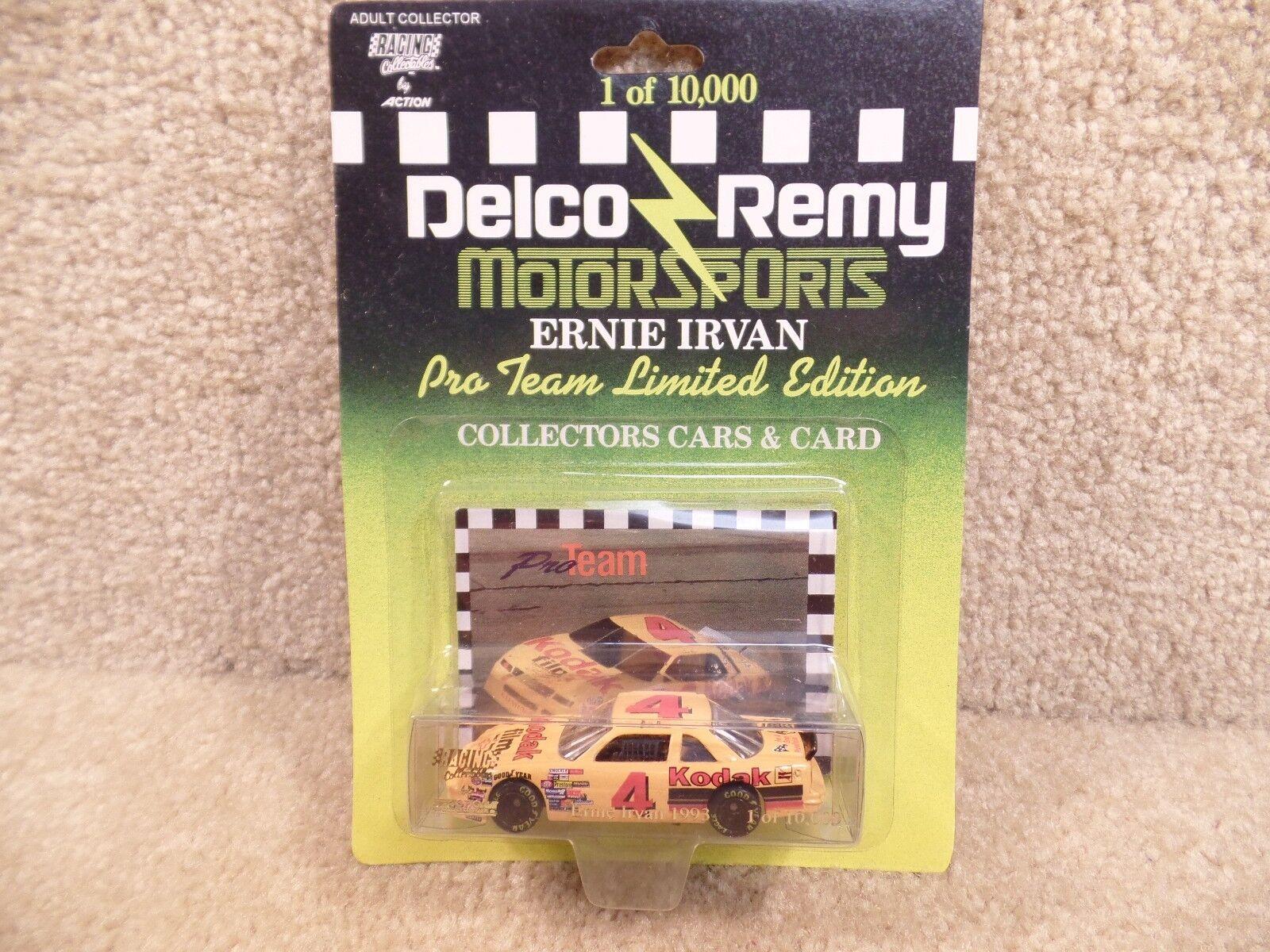 New 1993 Action 1 64 Scale Diecast NASCAR Ernie Irvan Kodak Delco Remy Chevy