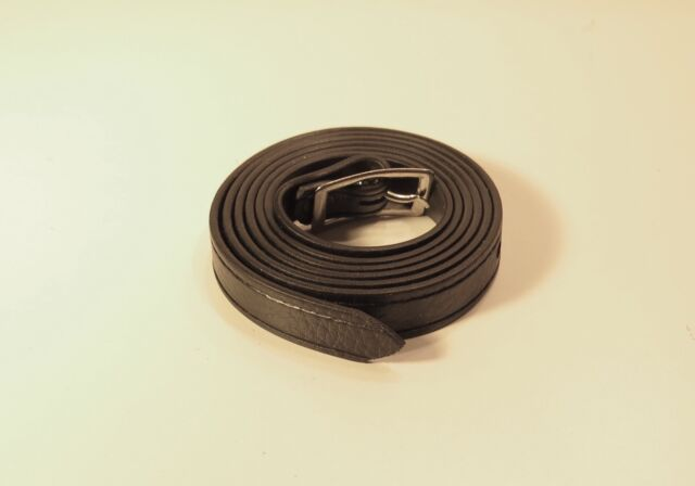 Vintage Black Leather Strap for Camera Case - Great Condition++