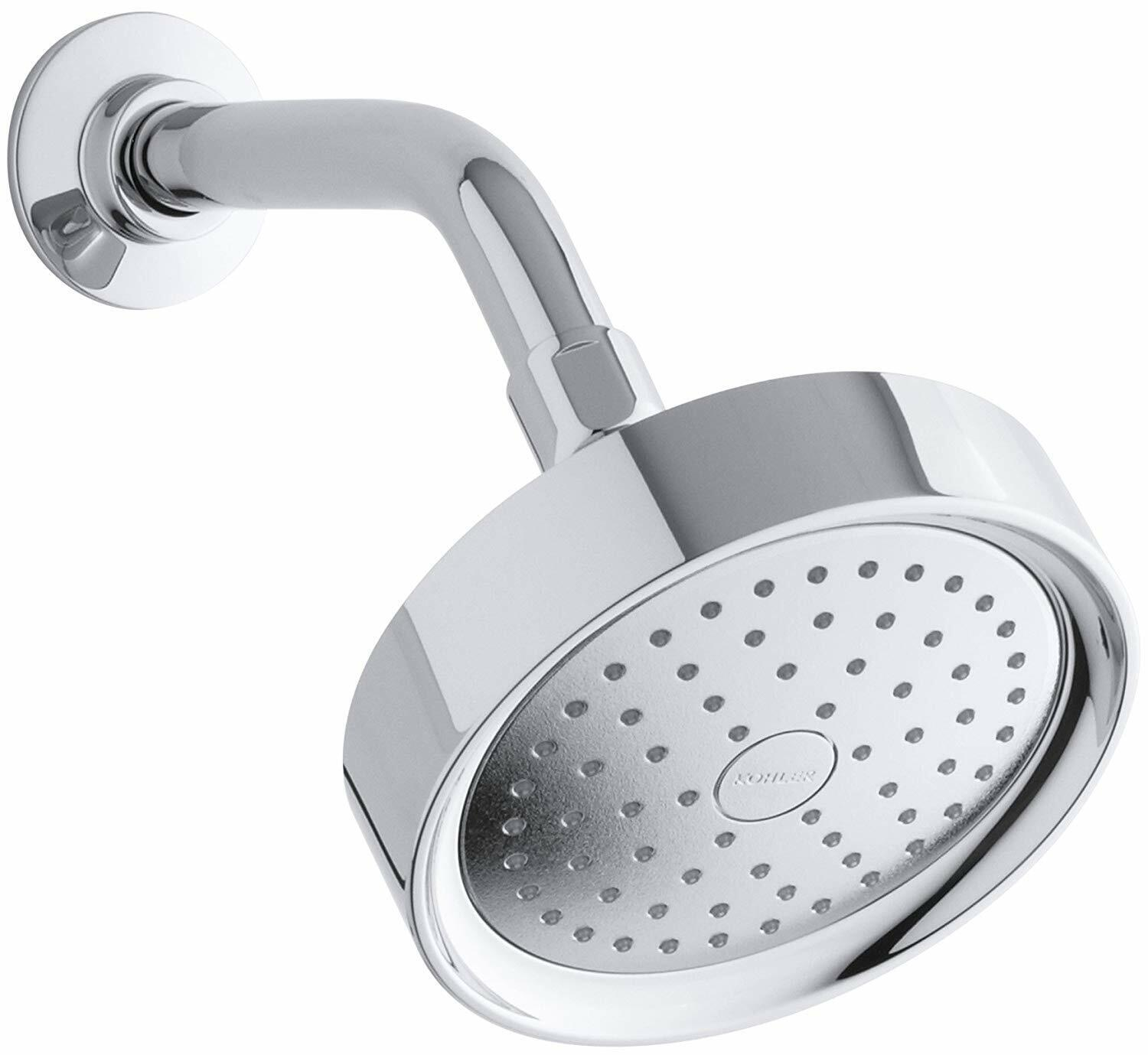 Kohler K 965 Ak Bn Purist Single Function Katalyst Showerhead Brushed Nickel