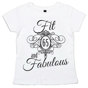 Image Is Loading 65th Birthday T Shirt 034 Fit 65 Amp
