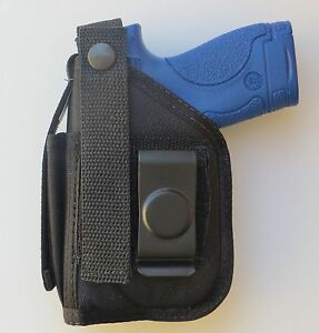 Hip-Belt-Holster-for-WALTHER-PK380-with-UNDERBARREL-LASER