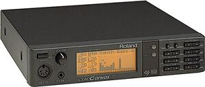 ROLAND-SC-55-SOUND-CANVAS-MIDI-SYNTHESIZER-SOUND-MODULE-amp-POWER-SUPPLY