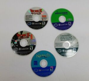 Lot-of-5-Nintendo-Gamecube-Games-Disc-Only-All-Tested-amp-Working-DragonBall-Z-2