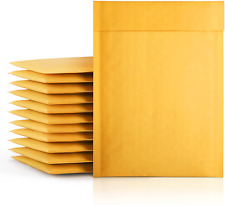 Fu Global 000 4x8 Inches Kraft Bubble Mailers Padded Envelopes Pack Of 50