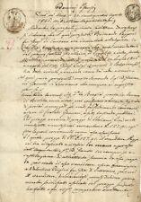 Manoscritto Contratto Vendita Terreno Pazzoni Scurano Neviano degli Arduini 1846